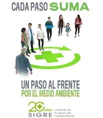 """SIGRE lanza su nueva campaña de sensibilización 'Cada paso suma"""""""